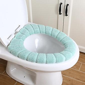 Toilet Seat Cover- Warm Soft, Acrylic Washable, Bathroom Accessories
