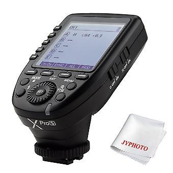 Godox xpro-s ttl bezdrátový flash spoušť pro sony DSLR fotoaparát 2.4g bezdrátový x systém vzdálený spouštěč 1