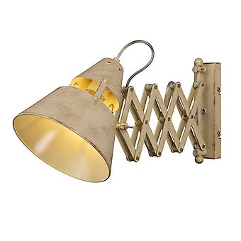 Mantra Industrial Wall Lamp 1 Light