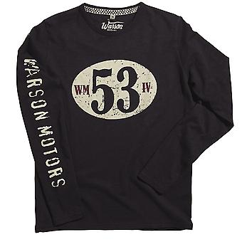Warson Motors Birdcage Long Sleeved Mens T-shirt