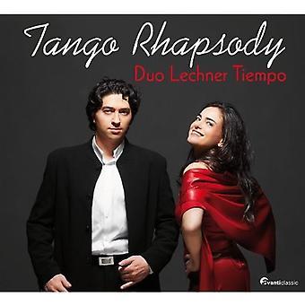 Duo Lechner Tiempo - Tango Rhapsody [CD] USA import