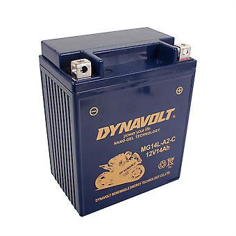 Dynavolt MGCB14LA2 Gel Nano Battery