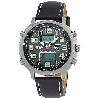 Mens Watch Ett Eco Tech Time EGS-11301-22L, Quartz, 48mm, 10ATM