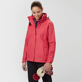 New Peter Storm Women ' s Storm vattentät jacka röd