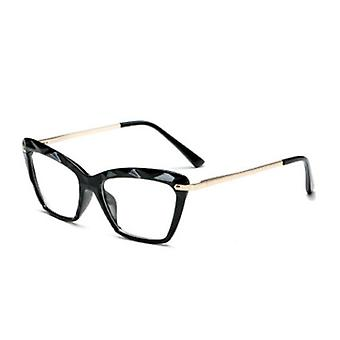 Square Reading Frame, Crystal Optical, Computer Glasses