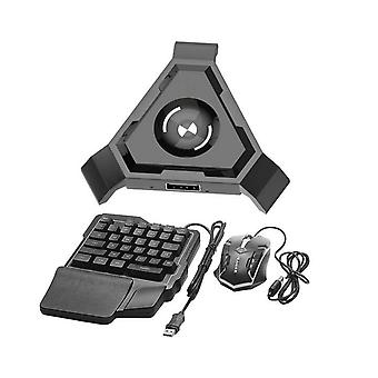 Wireless Bluetooth Gaming Keyboard Mouse Converter Adapter