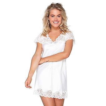 LingaDore 6012S-275 Women's Snow White Lace Nightdress