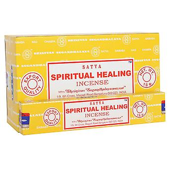 Satya Spiritual Healing Incense Sticks (Pack of 120)