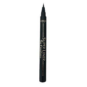 L'Oreal Super Liner So Couture Eyeliner Extra Fine Line Black Waterproof