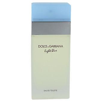 Licht blauwe Eau De Toilette Spray (Tester) door Dolce & Gabbana 3.4 oz Eau De Toilette Spray