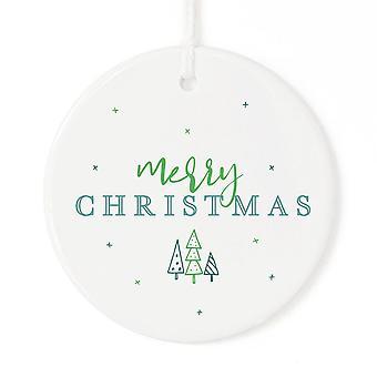 Frohe Weihnachten Ornament