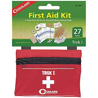 Coghlan's Trek I First Aid Kit, 27 Pieces, Lightweight Outdoor Set