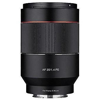 Rokinon af 35mm f/1.4 auto focus wide angle full frame lens for sony fe mount, black (io3514-e)