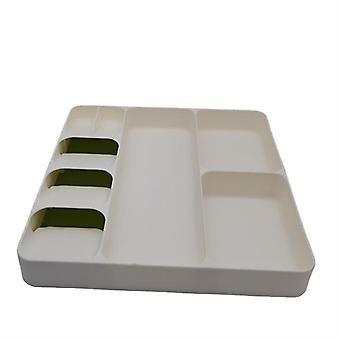 Köksbordsartiklar och köksartiklar låda förvaringsfack, bestick och gaffel separation arrangör
