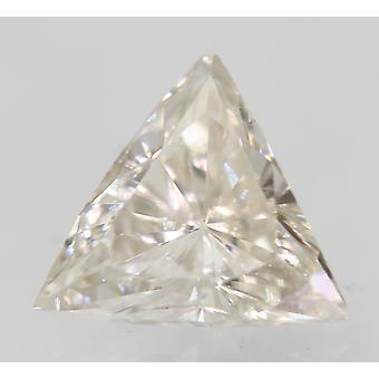Sertifioitu 0,43 karat G Väri VS1 Kolmio Natural Loose Diamond 5.84x5.26mm 2EX