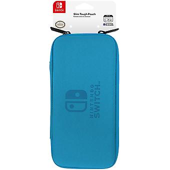 Slim tough pouch for nintendo switch lite (blue) by hori