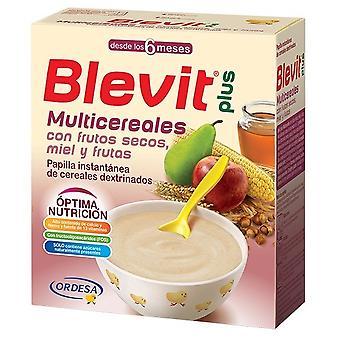Blevit Blevit Plus Multicereal with nuts Honey and Fruit 300 gr