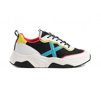 Shoes Munich Sneaker Running Wave 56 White Leather/ Multicolor Unisex Us21mu06 8770056