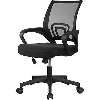 Yaheetech Brostuhl Drehstuhl ergonomischer Schreibtischstuhl hhen Chefsessel mit Rollen