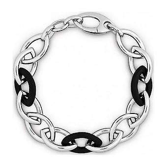 QUINN - Bransoletka - Damskie - 925 Silver & Ebony - 280594