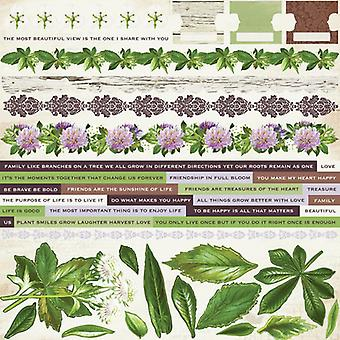 Kaisercraft - Botanica 12x12 Sticker Sheet