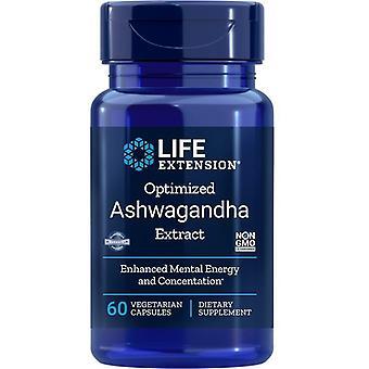 הארכת חיים אופטימיזציה Ashwagandha לחלץ Vegicaps 60