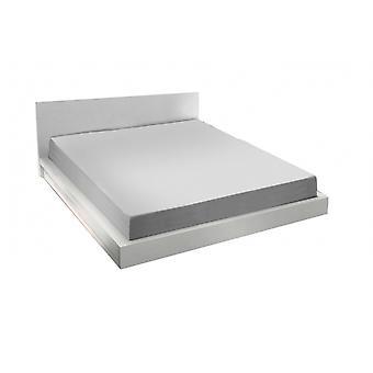 spanbed sheets Alva90 x 200 cm cotton grey