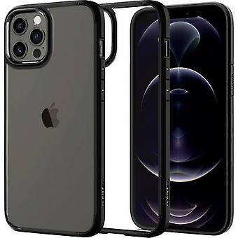 Spigen Ultra Hybrid Back cover Apple iPhone 12 Pro Black, Transparent