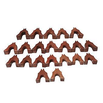 21-snarige Akoestische Sequoia Guzheng Bridge Set Zither Accessoires