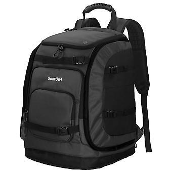 Ski Boot Bag 50l Large Capacity Storage, Skis Backpack With Adjustable