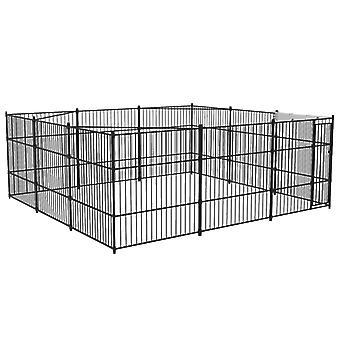 vidaXL Outdoor-Hundezwinger 5x5x2 m