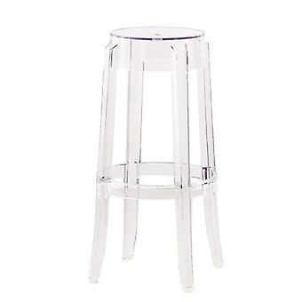Modern Simple Plastic Bar Chair