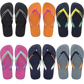 Havaianas Womens Top Mix Summer Beach Pool Sandals Thongs Flip Flops