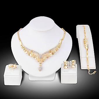 Romantic Color Design Jewelry Set