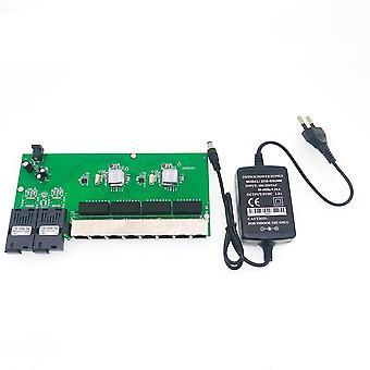 Ethernet-kytkin, kuituportti Sc-liitin, Pcba-levy - Optinen muunninlevy