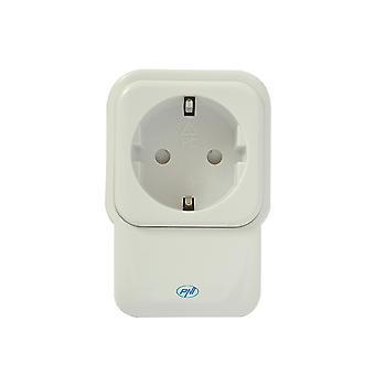 Toma inteligente con repetidor y atenuador PNI SmartHome SM441R ON /OFF en cualquier dispositivo eléctrico a través de Internet