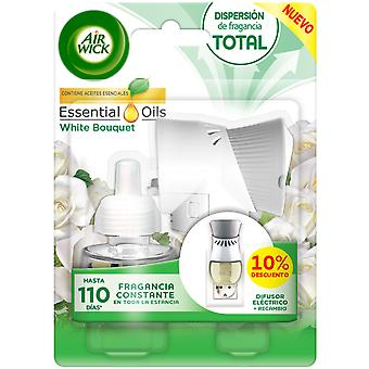 Air Wick White Bouquet Electric Air Freshener Device and refill