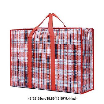 Quilt Clothes Storage Bag Pillow Blanket Bedding Zipper Packing Item|Foldable Storage Bags