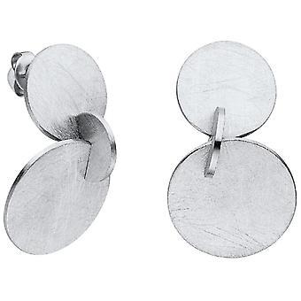 M&M Allemagne ME3406-100 Dots Collection Boucles d'oreilles femmes