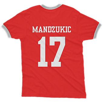 Mario mandzukic 17 croatia country ringer t-shirt