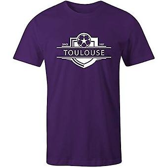 Sporting empire toulouse 1937 established badge football t-shirt