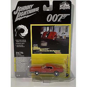 James Bond 1971 Ford Mustang Mach 1 Diamonds Are Forever 1:64 Johnny Lightning JLPC002
