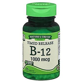 Nature's Truth Nature's Truth B-12 Tablets Timed Release, 1000 mcg, 75 Tabs