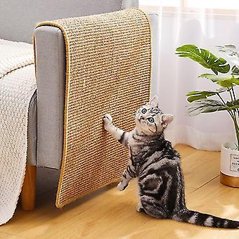 Chat Gratteur Sisal Mat Board Cat Scratch pour aiguiser ongles Grattoir Chats Arbre Chat Jouets Chaise Table