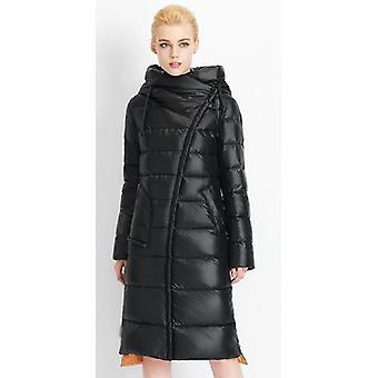 Winter Warm- Hooded Bio Fluff, Parka Jas, Jas