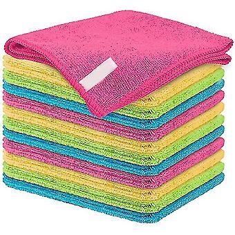 10pcs Microfiber Cleaning Cloth Size 18x23cm