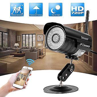 Led vezeték nélküli Ip P2p kamera Infravörös éjjellátó Tcp Http Smtp Wifi Hálózat Ie8.0