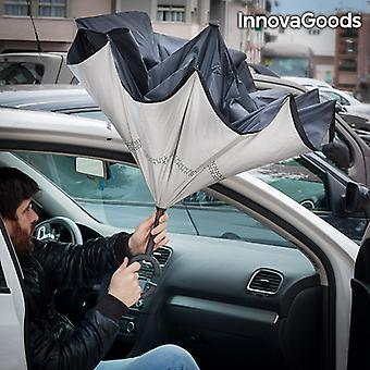 Paraguas de cierre inverso de InnovaGoods