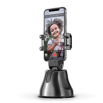 Sort bærbar alt-i-en auto smart skydning selfie stick,360?? smart opfølgning(sort)