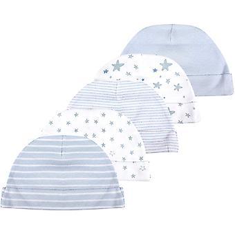 Baby-Mütze und Fäustlinge, Set für Neugeborene, 5 Mützen und 5 Paar Fäustlinge, für Babys, Jungen